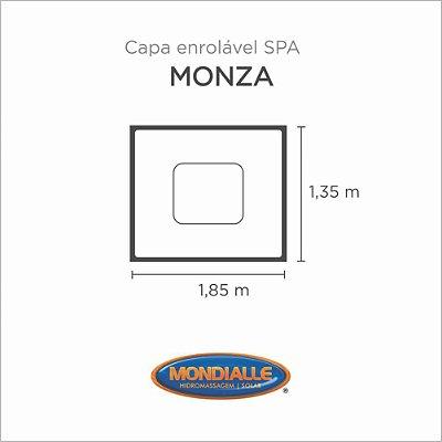 Capa Spa Enrolável Banheira Monza Mondialle