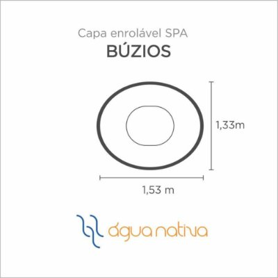 Capa Spa Enrolável Mini Spa Buzios Agua Nativa