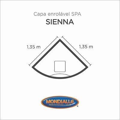 Capa Spa Enrolável Banheira Sienna Mondialle