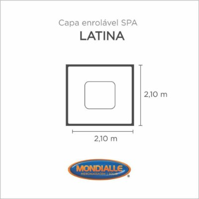 Capa Spa Enrolável Spa Latina Mondialle