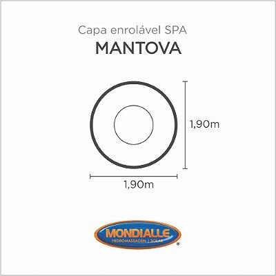 Capa Spa Enrolável Spa Mantova Mondialle