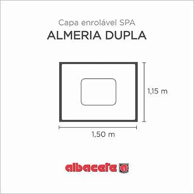 Capa Spa Enrolável Banheira Almeria Dupla Albacete