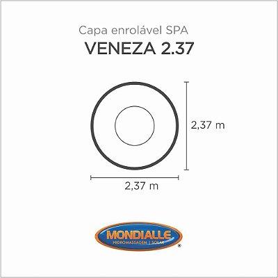 Capa Spa Enrolável Spa Veneza 2.37 Mondialle