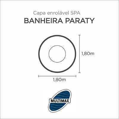 Capa Spa Enrolável Banheira Paraty Multimax