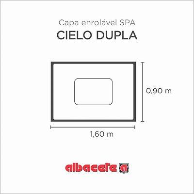 Capa Spa Enrolável Banheira Cielo Dupla Albacete