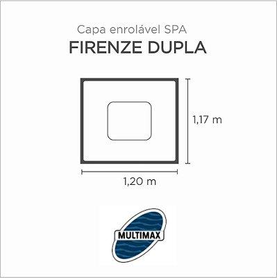 Capa Spa Enrolável Banheira Firenze Dupla Multimax