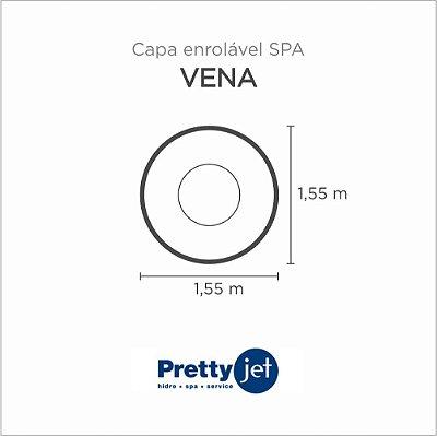 Capa Spa Enrolável Banheira Vena Pretty Jet