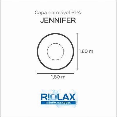 Capa Spa Enrolável Banheira Jennifer Riolax