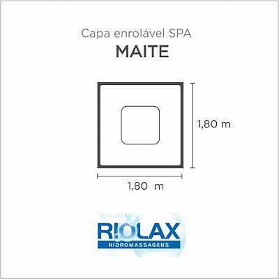 Capa Spa Enrolável Banheira Maite Riolax
