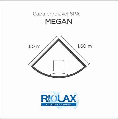 Capa Spa Enrolável Banheira Megan Riolax