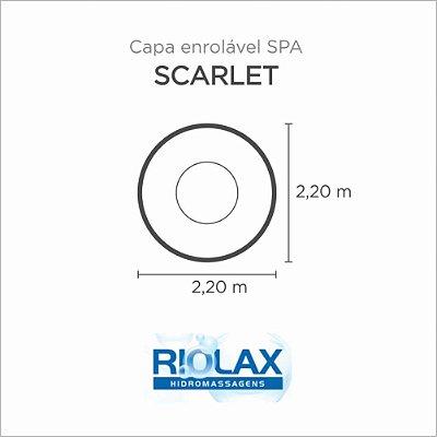 Capa Spa Enrolável Banheira Scarlet Riolax