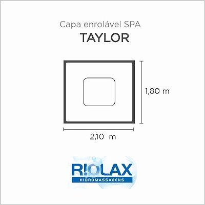 Capa Spa Enrolável Banheira Taylor Riolax