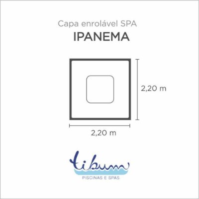Capa Spa Enrolável Spa Ipanema Básico Tibum