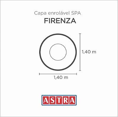 Capa Spa Enrolável Banheira Firenze - H12 / Ha12 Astra