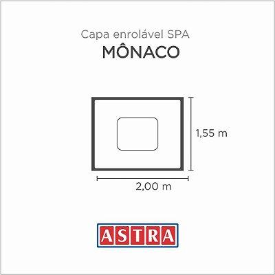 Capa Spa Enrolável Spa Mônaco - Acp15 Astra
