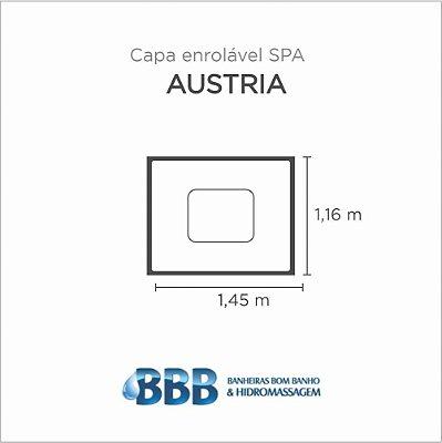 Capa Spa Enrolável Banheira Austria Bom Banho