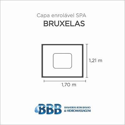 Capa Spa Enrolável Banheira Bruxelas Bom Banho