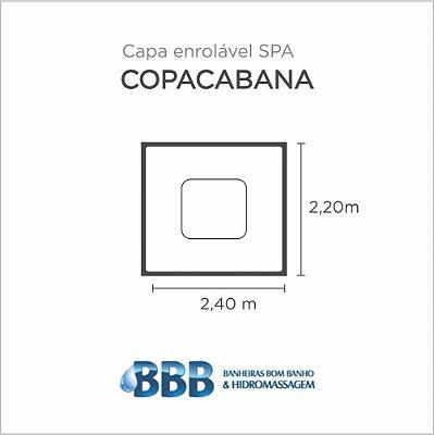 Capa Spa Enrolável Spa Copacabana Bom Banho