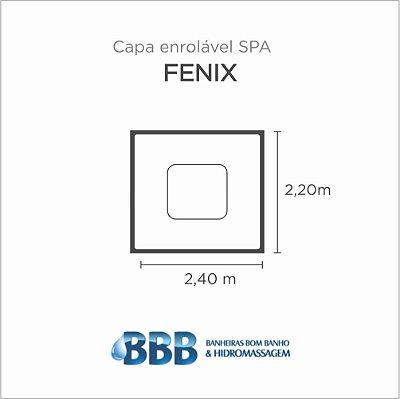 Capa Spa Enrolável Spa Fenix Bom Banho