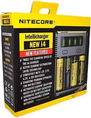 Carregador de Baterias Nitecore New i4