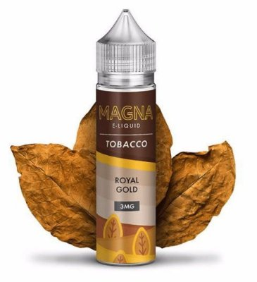 MAGNA E-LIQUID - ROYAL GOLD - 60ML