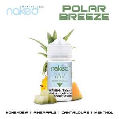 NAKED 100 MENTHOL - POLAR BREEZE - 60ML