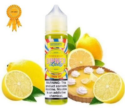 DINNER LADY - LEMON TART - 60ML