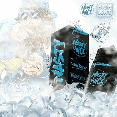 NASTY JUICES - SLOW BLOW HIGH MINT - 60ML