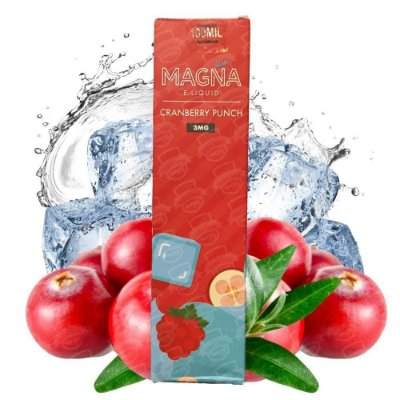 MAGNA E-LIQUID - CRANBERRY PUNCH - 60ML