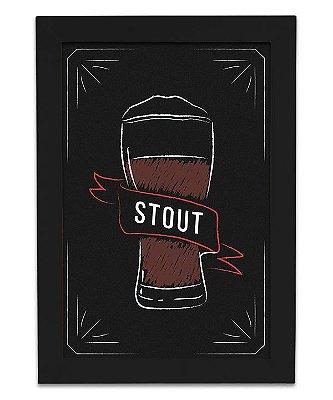 Quadro Cerveja Stout