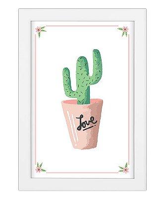 Coleção Minhas Plantinhas - Cactus Love