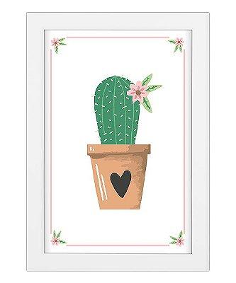 Coleção Minhas Plantinhas - Cactus do Coração