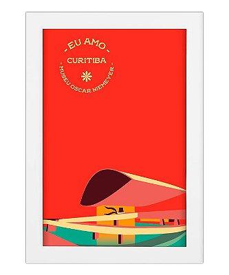 Coleção Eu Amo Curitiba - Museu Oscar Niemeyer by Raphael de Lavor