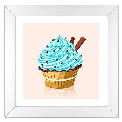 Quadro para cozinha - Cupcake com Chocoball - Coleção Sugar Lovers