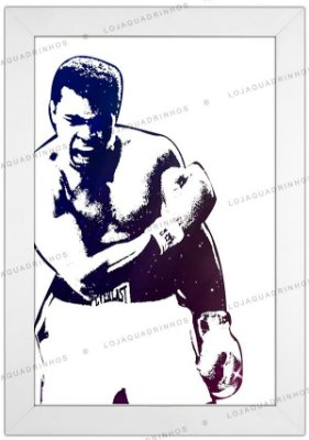 Quadro Muhammad Ali