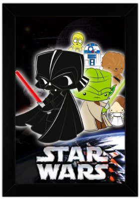 Quadro Star Wars by Toonicos