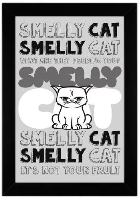 Quadro Smelly Cat by Toonicos