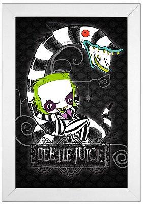 Quadro Beetlejuice by Toonicos