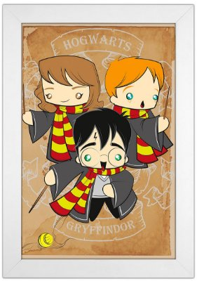 Quadro Harry Potter by Toonicos