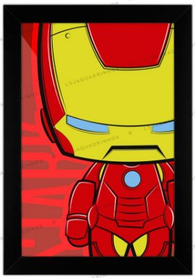 Quadro Homem de Ferro by Toonicos