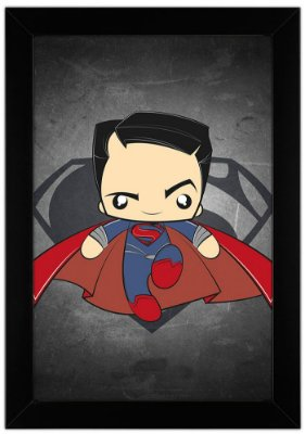 Quadro Super Man by Toonicos