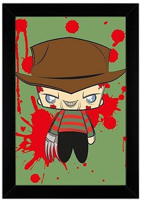 Quadro Freddy Krueger by Toonicos