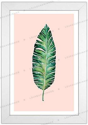 Quadro Minimalista Plante - Coleção Botanique