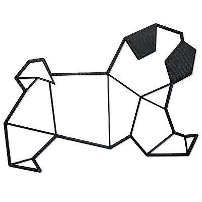 Pug Decorativo Minimalista 3D