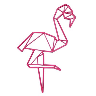 Flamingo Decorativo Minimalista 3D