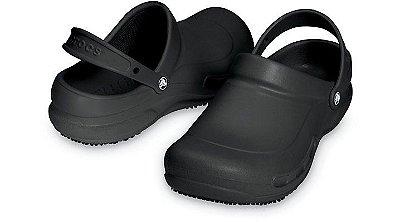 Sandália Crocs Bistro Black - Masculino / Feminino