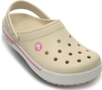 CALÇADO CROCBAND 2.5 CLOG KIDS  - 12837 - STUCCO/MELON