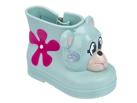 MINI MELISSA MONKEY BOOT + JEREMY SCOTT 31825 - VERDE PASTEL
