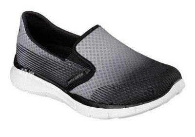 SKECHERS WOMEN EQUALIZER SPACE OUT 12184 - GRAY/BLACK