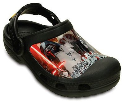 CALCADO STAR WARS CLOG MULTI 202172 - BLACK